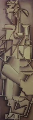 Laced Cubism II