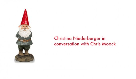 Christina Niederberger in conversation with Chris Moock